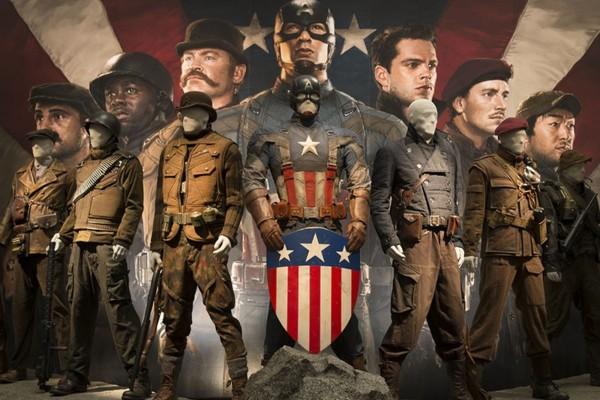 Captain America The Winter Soldier Exhibit