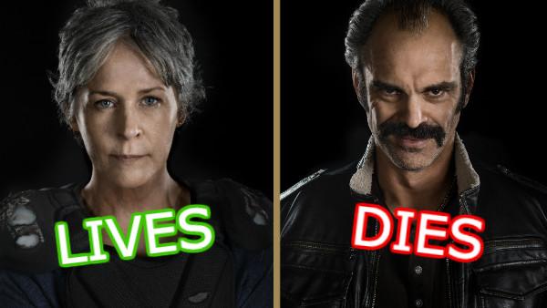 The Walking Dead Lives Dies