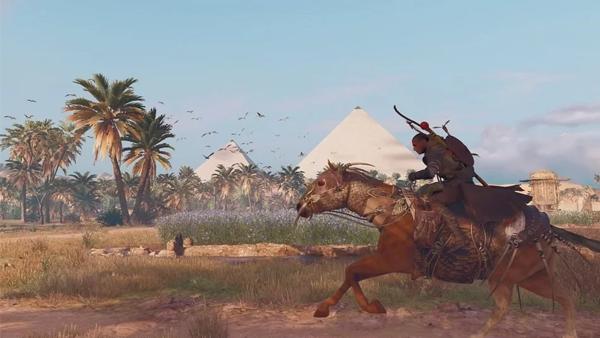 Assassins Creed Origins Desert