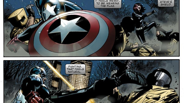 Bucky Becomes Captain America