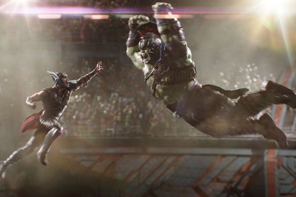 Thor Ragnarok Hulk Thor