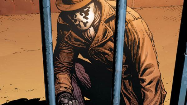Doomsday Clock 1 Watchmen Rorschach