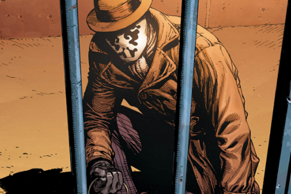 Doomsday Clock 1 Watchmen Rorschach