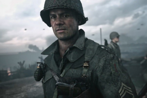 Call Of Duty WW2 Josh Duhamel