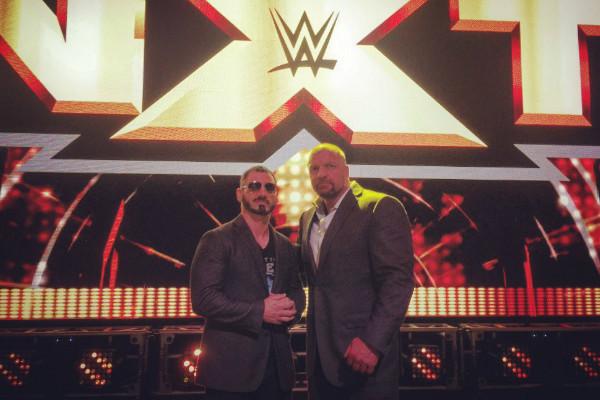 Austin Aries Triple H