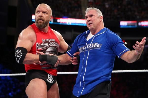Shane McMahon Triple H