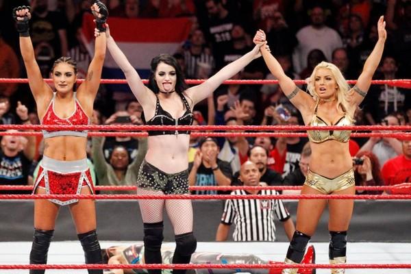 Sonya Deville Paige Mandy Rose