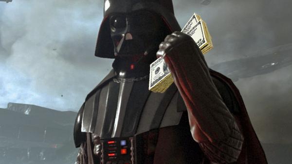 Darth Vader Battlefront 2