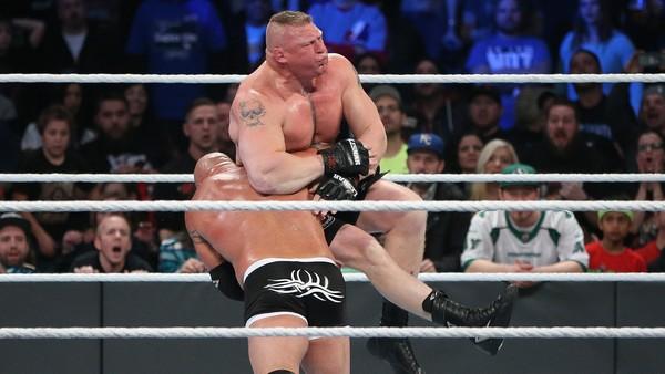 Goldberg Lesnar Survivor Series 2016