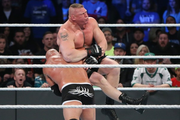 Goldberg Lesnar Survivor Series 2016