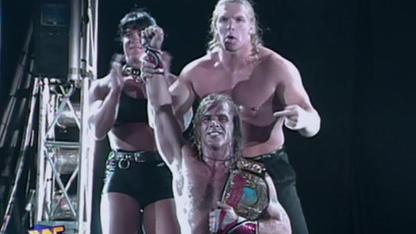 D Generation X Shawn Michaels European Title