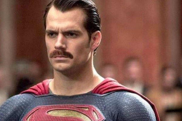 Batman V Superman Henry Cavill Mustache