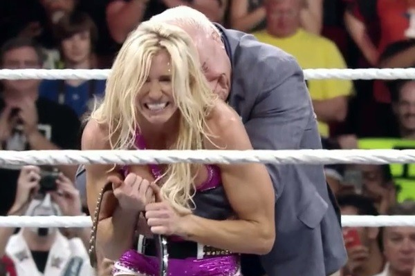 Night Of Champions 2015 Charlotte Ric Flair