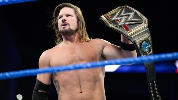 AJ Styles WWE Champion SmackDown