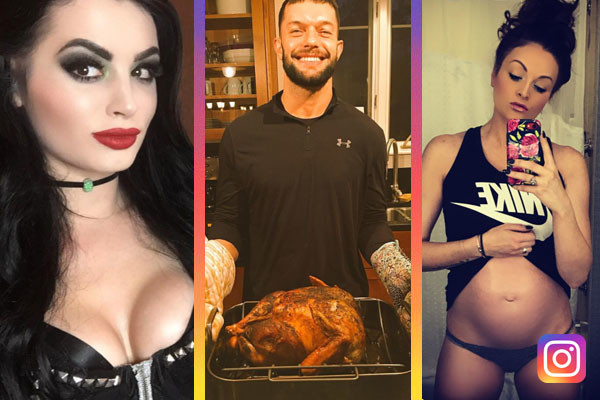 25 Most Revealing WWE Instagram Posts Of The Week (Nov 26th)