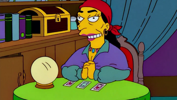 The Simpsons Gypsy