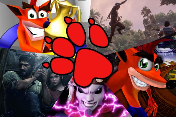 Naughty Dog Games