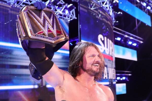 AJ Styles WWE SmackDown