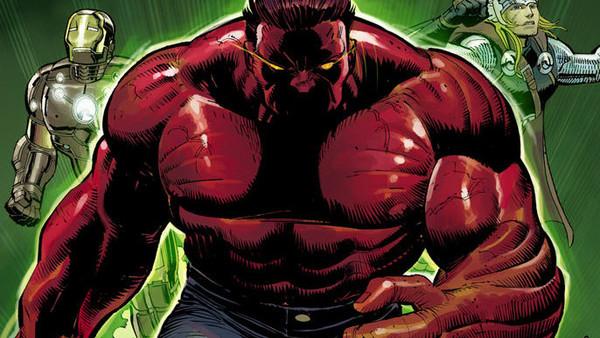 Red Hulk Avengers