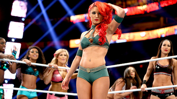 Eva Marie Survivor Series 2013