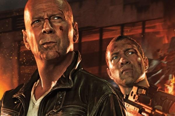 A Good Day To Die Hard Bruce Willis Jai Courtney