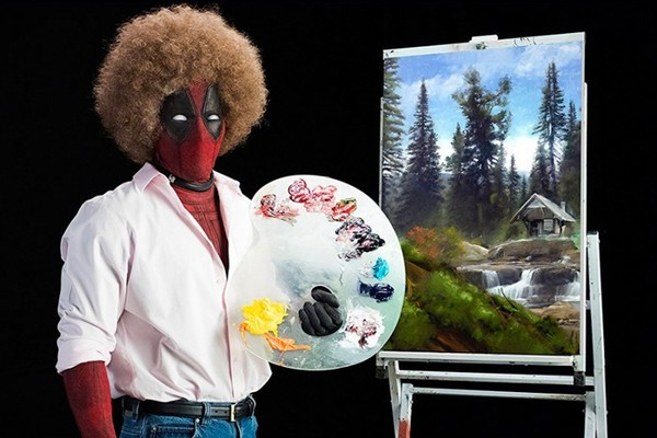 Deadpool Bob Ross