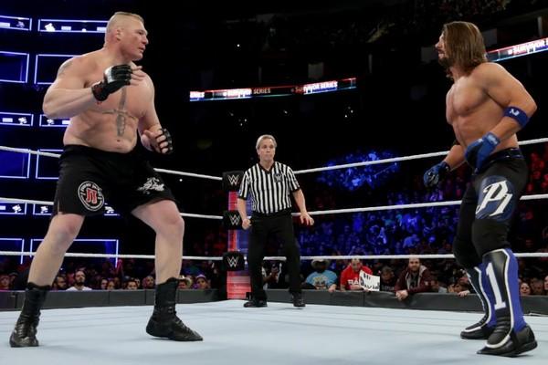 Brock Lesnar AJ Styles