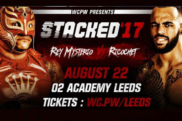 Rey Mysterio Vs. Ricochet Set For Stacked (Aug 22) In Leeds!
