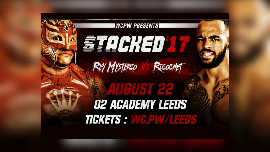 Rey Mysterio Vs. Ricochet Set For Stacked (Aug 22) In Leeds!