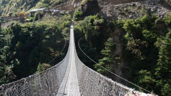Ghasa Bridge Nepal
