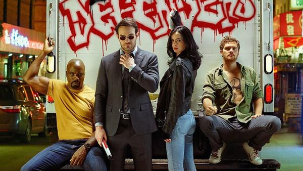 Defenders Netflix EW