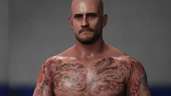 CM Punk WWE 2K18