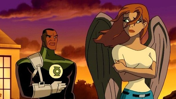 Justice League Green Lantern Hawkgirl