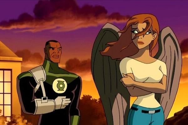 Justice League Green Lantern Hawkgirl