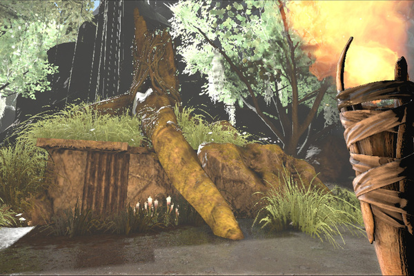 Great Shreku0027s House Can Be Found In Ark: Survival Evolved