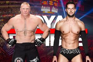 Royal Rumble Balor Brock