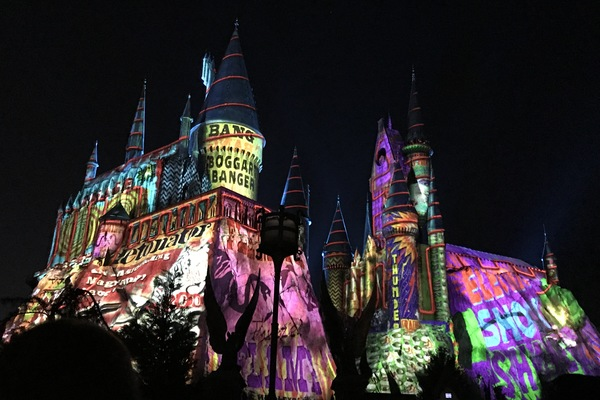 Harry Potter Hogwarts Castle Christmas Universal Orlando