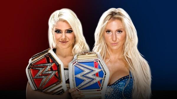 Charlotte Flair Alexa Bliss Survivor Series