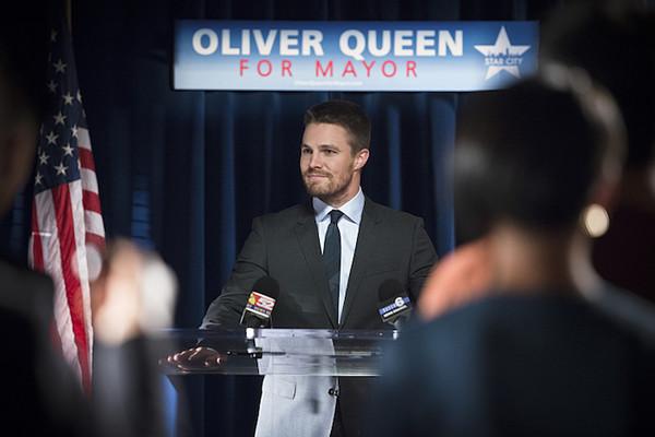 Arrow Oliver Mayor