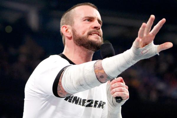 CM Punk Annoyed