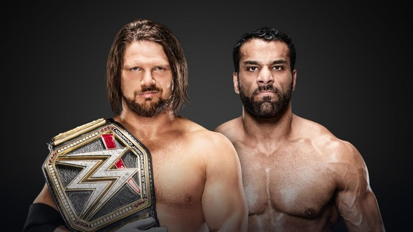 AJ Styles Jinder Mahal Clash Of Champions