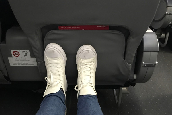 Norwegian Air Leg Room