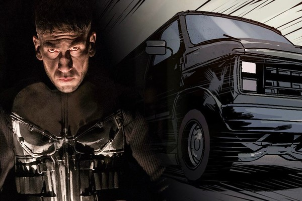 Punisher Battle Van