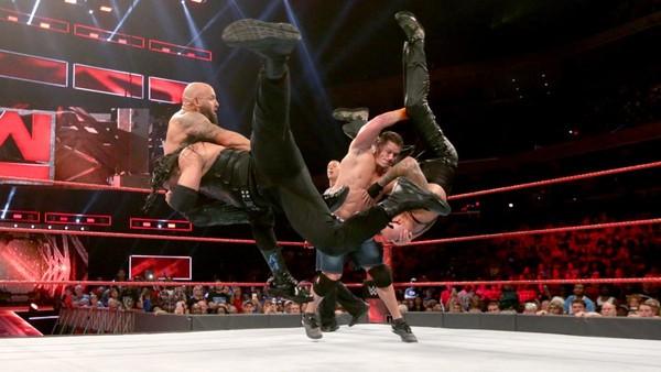 Roman Reigns John Cena The Club