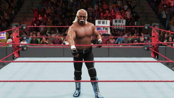 WWE 2K18 Hollywood Hogan