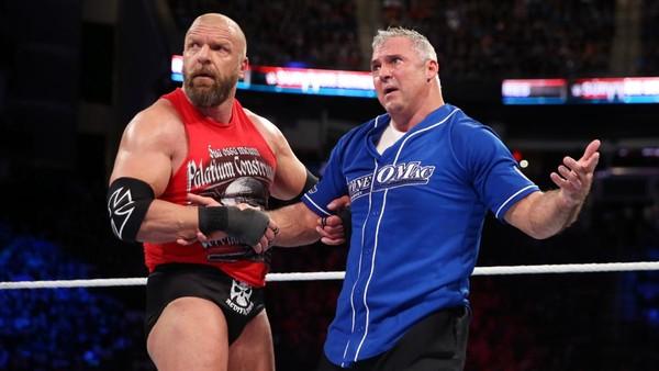 Triple H Shane McMahon