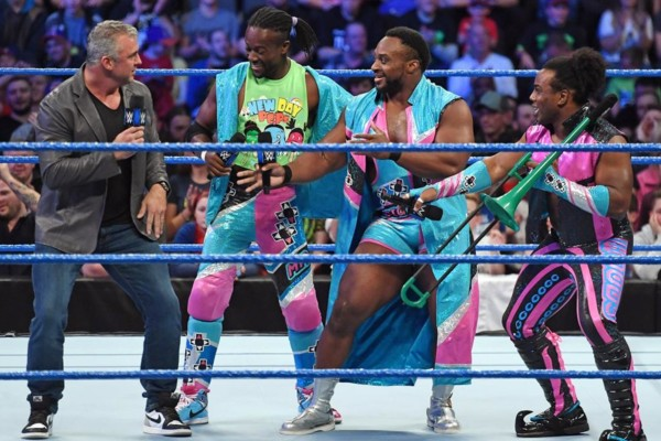 Shane McMahon The New Day