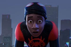 Miles Morales Spider-Man Into Spider-Verse