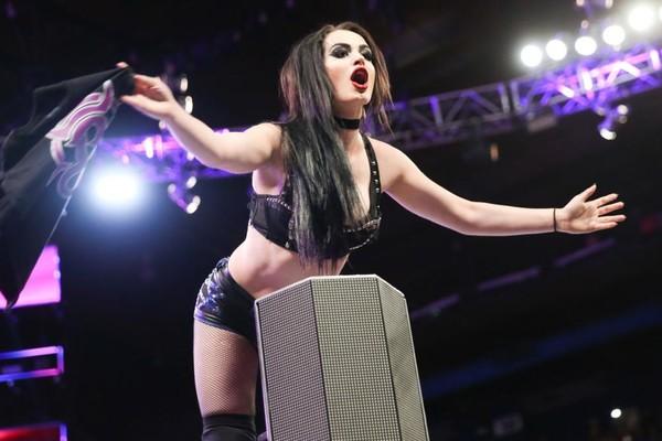 Paige WWE Raw