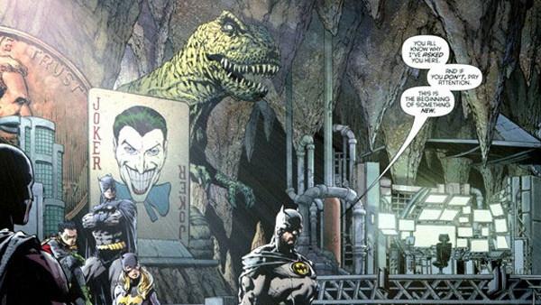 Batman Batcave Trophies